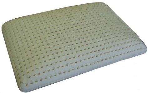 latex foam bed pillows new latex foam cervical neck support bed pillow sleep ebay