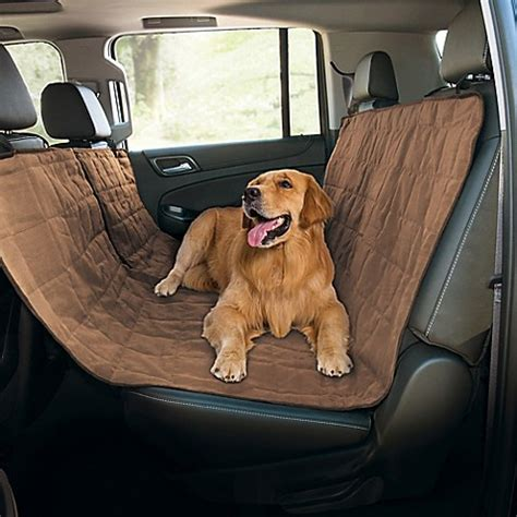 pet car seat hammock pawslife quilted pet hammock car seat cover bed bath