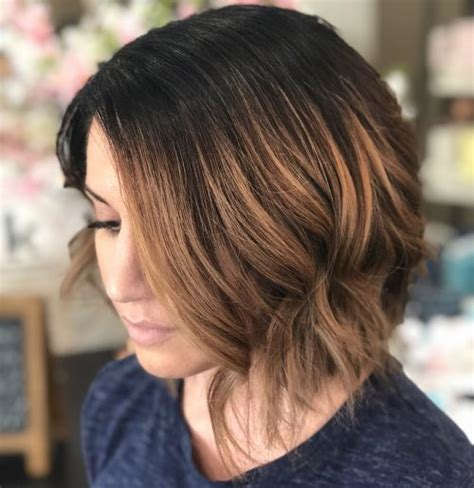 caramel brown bobs for round faces 37 most flattering bob haircuts for round faces