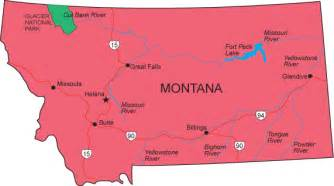 State Of Montana Map by Image Gallery Montana State Map