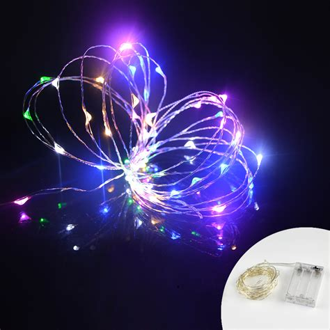 colors     leds rgb holiday lighting led copper wire string fairy light strip lamp