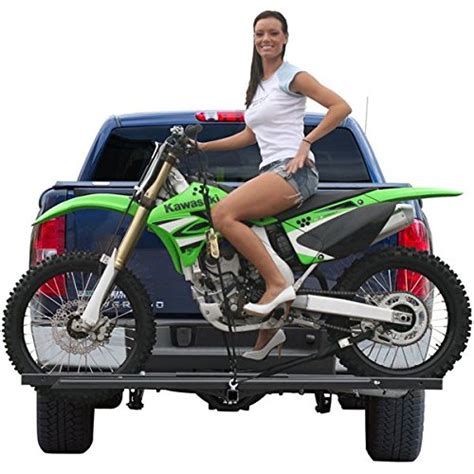 motocross bike carrier dirt bike and sport scooter hitch mounted carrier rack