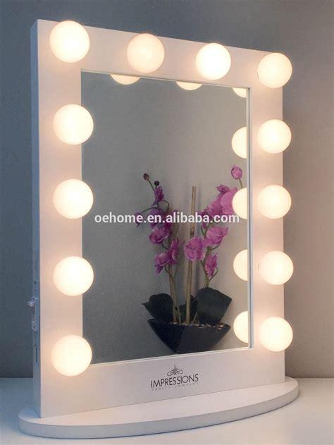 Lighted Vanity Table Coiffeuse Avec Lumineux Miroir Miroir De Maquillage Miroir