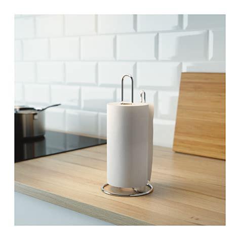 Kitchen Paper Holder Ikea ikea torkad steel kitchen paper roll holder stand silver easy tear 28cm b111
