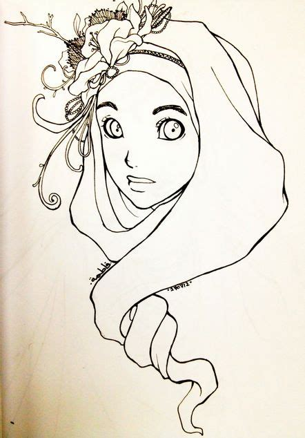 tutorial sketchbook kartun 46 best images about sketching hijabis on pinterest