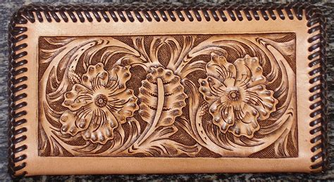 leather tooling wallet pattern 1000 images about leather working on pinterest