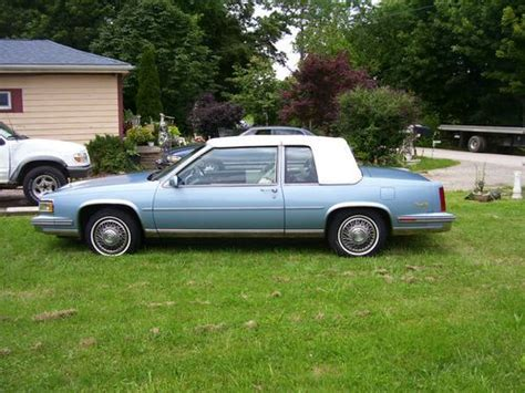 1988 Cadillac Coupe by Sell Used 1988 Cadillac Base Coupe 2 Door 4 5l In