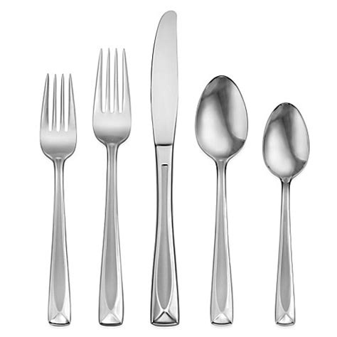 bed bath and beyond silverware oneida 174 satin lincoln 45 piece flatware set bed bath