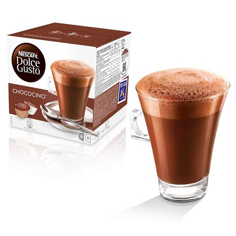 Moccachino Coffee Latte chococino chocolate pods nescaf 201 174 dolce gusto 174