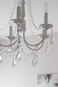 Easy To Make Chandeliers Diy Crystal Chandelier Easy Tutorial