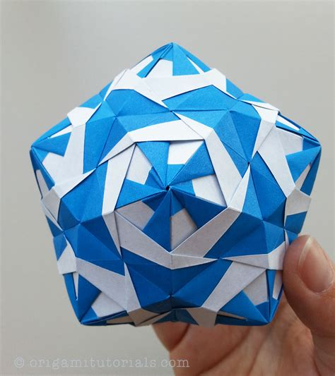 tutorial of origami ratibor kusudama tutorial origami tutorials
