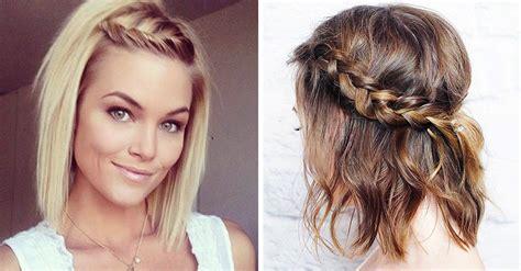 como hacer peinados para pelo corto 15 peinados f 225 ciles de hacer para chicas con cabello corto