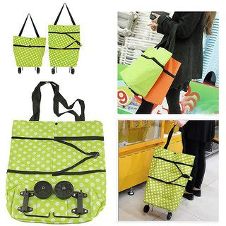 Promo Foldable Shopping Trolley Bag Tas Shopping Troli Lipat frappelfoldable rolling shopping bag on wheels reusable folding shopping cart trolley bag with