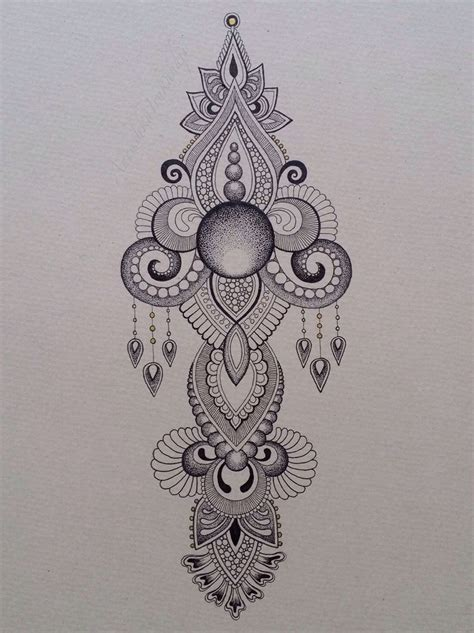 henna tattoo drawing best 25 baroque ideas on