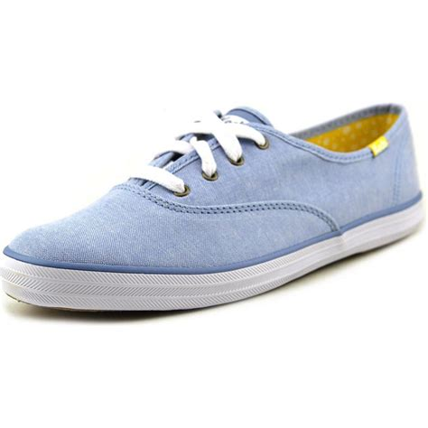 blue sneakers keds keds chion chamb womens canvas blue sneakers shoes