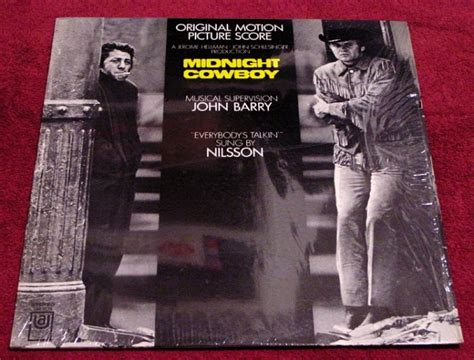 cowboy film soundtracks midnight cowboy original film soundtrack lp with
