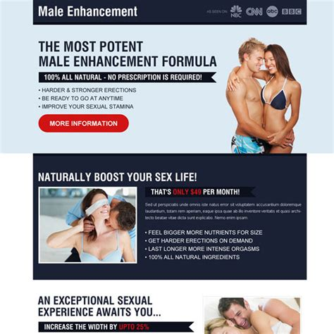 Credit Enhancement Formula Most Potent Enhancement Formula Creative Call To Landing Page