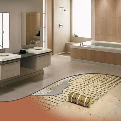 heated bathroom floors have a heated bathroom floor and more