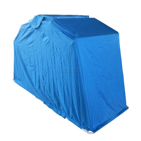 Waterproof Shed by Blue Motor Bike Folding Cover Storage Shed Waterproof