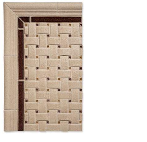 basketweave details tile backsplash ideas