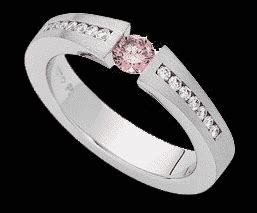 pink diamond ring black bg harry georje diamonds