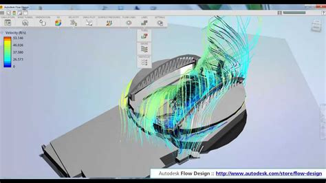 flow design autodesk flow design how to model wind inside