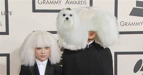 does sia wear a wig was sia wearing a wig the internet s most brutally