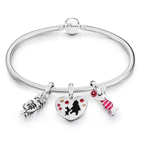 chamilia disney winnie the pooh charm and bracelet