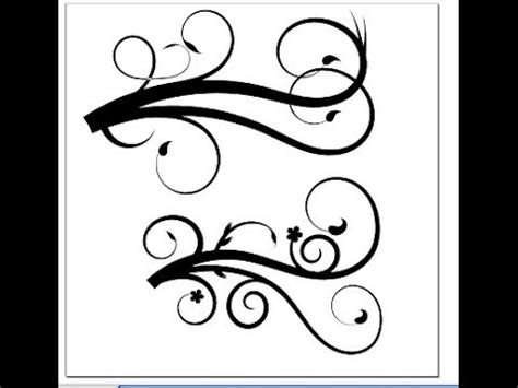 inkscape tutorial create your own flourish how to make flourish designs in inkscape youtube