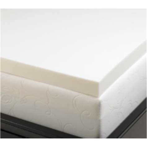 Test Mattress by 2 Inch Memory Foam Mattress Topper 5 3 Lb Density Mattress