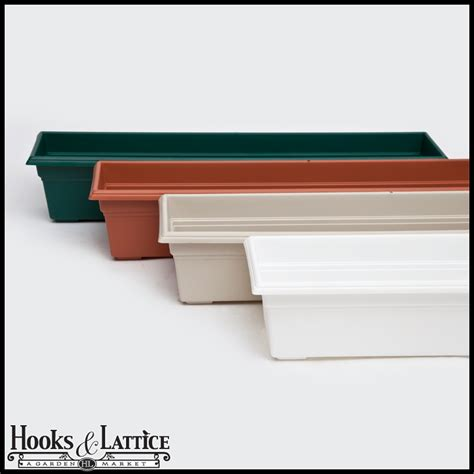 Plastic Planter Box Liners by Countryside Plastic Flower Boxes Or Plastic Flower Box Liners