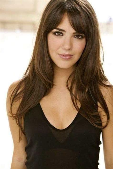 hairstyle ideas long hair fringe 15 photo of long hairstyles with fringe