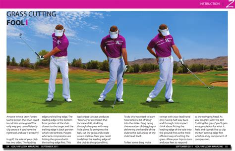 golf swing compression squeeze play jeff ritter