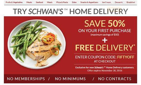 10 schwan s coupon code 2017 schwan s code dealspotr