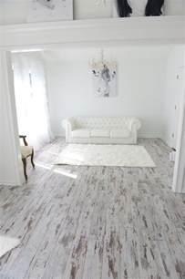 Spa Bathroom Ideas - white washed oak laminate flooring
