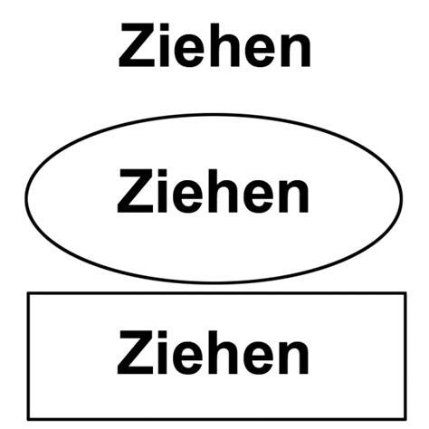 Aufkleber Dr Cken Ziehen by Theiss Druck Ziehen