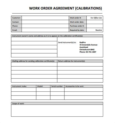 order confirmation template 29 free word excel pdf document