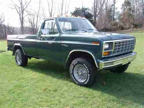 1981 ford f100 ranger automatic transmission ford truck enthusiasts forums find used 1981 ford ranger xlt f 350 4x4 54 000 mi always garaged 1owner 100 rust free in