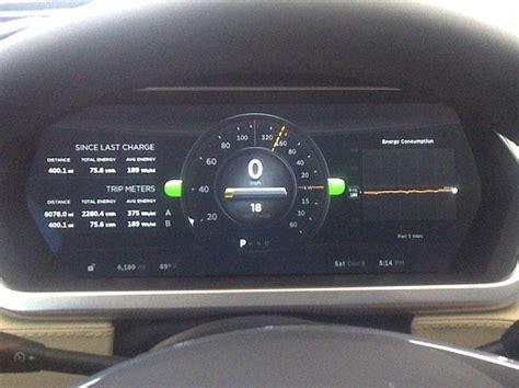 Tesla Mileage With Tesla Model S Pushing The Range Limits In 60