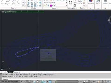 autocad tutorial offset command autocad 2012 offset tutorial video youtube