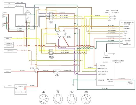 ignition switch wiring diagram tractor d2650 ignition