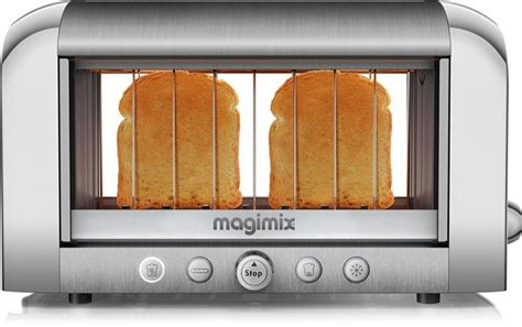 Toaster Magimix Glass Sided Toaster Watch It Burn Wired