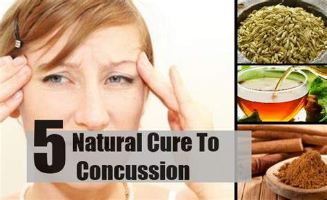 5 best and effective ways to cure concussion naturally