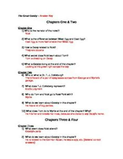 symbolism in the great gatsby worksheet answers the great gatsby graphic organizer color symbolism