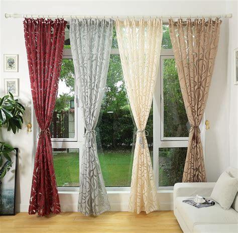 curtain modern design modern design jacquard window curtain for home drapes