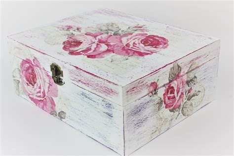 Decoupage Tutorial Wood - how to make a decoupage box easy tutorial diy doovi