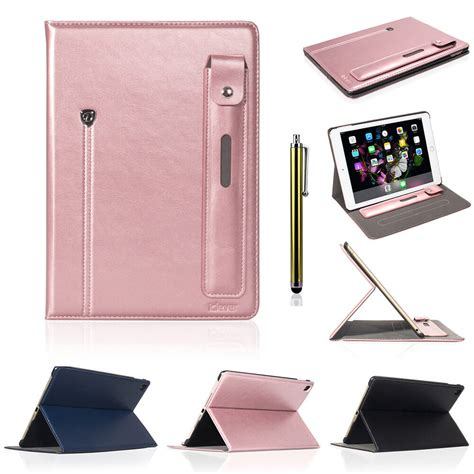 luxury stand flip pu leather case smart cover  apple