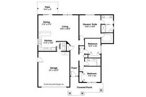 Craftsman Homes Floor Plans Craftsman House Plans Ravenden 30 712 Associated Designs