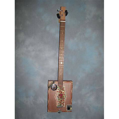 Handmade Resonator Guitars - made cigar box guitar resonator guitar guitar center
