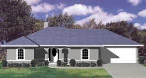 Hip Roof Ranch House Plans House Plans Ranch Hip Roof Stucco The Quot Waverly Quot With A